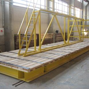 concrete prefab transport trolley load capacity 60T