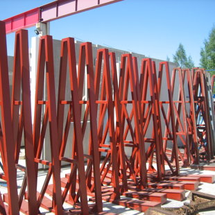 prefabricated concrete storage